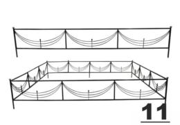 11 навесы оградки