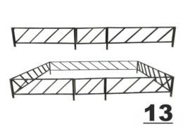 13 ограда на могилу