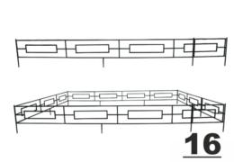 16 оградка