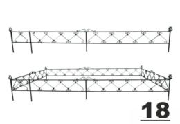 18 оградка могила заказать