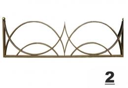 2 навесы оградки на могилу