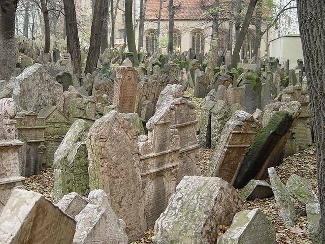 старое еврейское кладбище