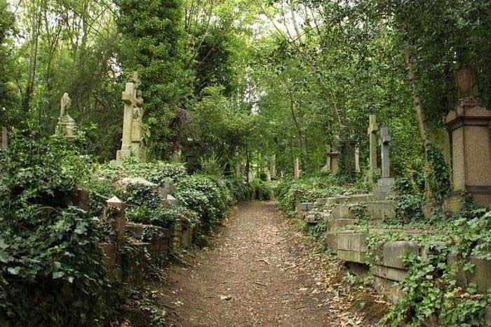 лондонское-кладбище
